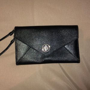Tory Burch Leather Envelope Wallet